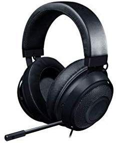 Razer Kraken Gaming Headset (mit Kühlenden Gel-Ohrpolstern für Ambitionierte Gamer) schwarz [Amazon]