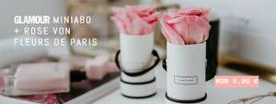 3 Ausgaben Glamour + Fleurs de Paris im Wert von 19,95€ als Prämie kostenlos erhalten