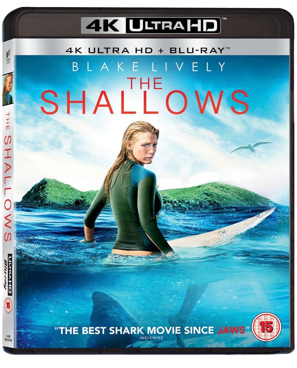 The Shallows - Gefahr aus der Tiefe (4K Blu-ray + Blu-ray) für 11,47€ inkl. Versand (Zoom UK)