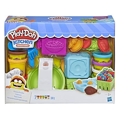 [Amazon Prime] Hasbro Play-Doh E1936EU4 - Supermarkt Knete, für fantasievolles und kreatives Spielen
