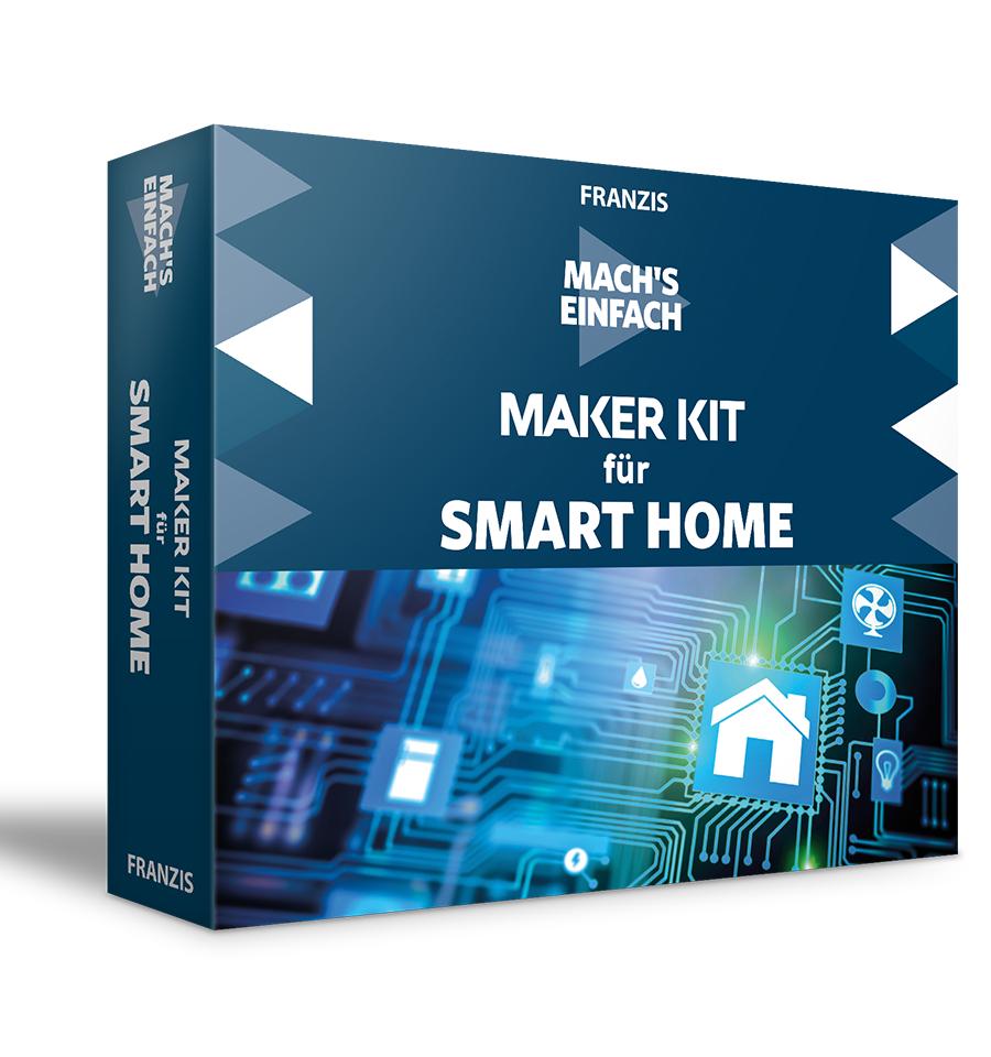 Maker Kit für Smart Home – Mach's einfach - inkl. NodeESP-Board und weiteren Zubehörteilen wie zB Handbuch