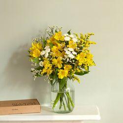 Blumenstrauß Emma inkl. Grußkarte für 12€ inkl. Versand bei Bloom & Wild
