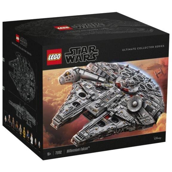 LEGO Star Wars 75192 Millennium Falcon für 629,99€ inkl. Versandkosten + Heute plus 47,10€ in Payback Punkten!