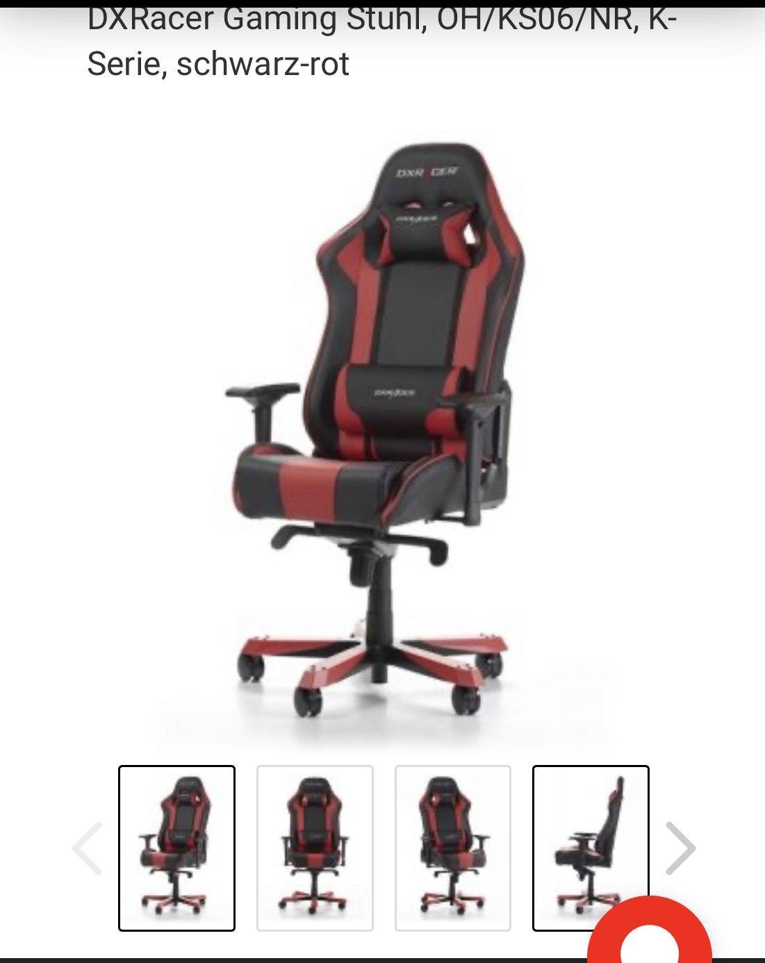 DXRacer Gaming Stuhl KS06/NR2 K-Serie