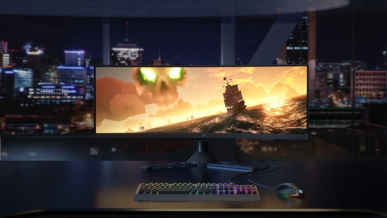 Lenovo Legion Y44w Ultrawide Gaming Monitor 144hz, Freesync 2, Usb-C mit Speaker