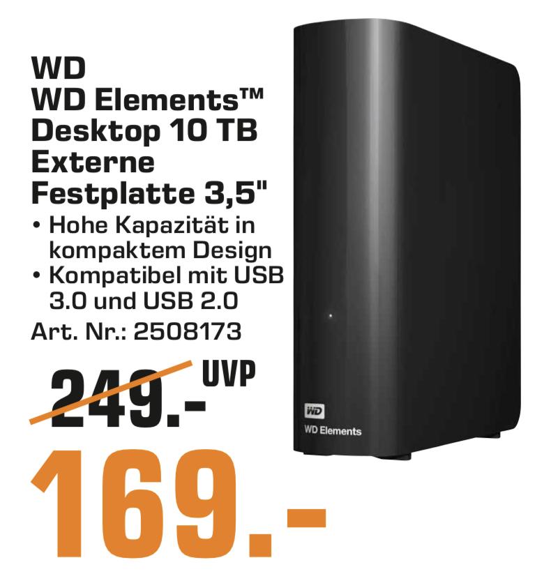 WD Elements Desktop 10TB externe USB 3.0 Micro-B Festplatte   LG SL8YG Soundbar + Rear Speaker =399€   SanDisk iXpand V2 Drive 128GB =39€