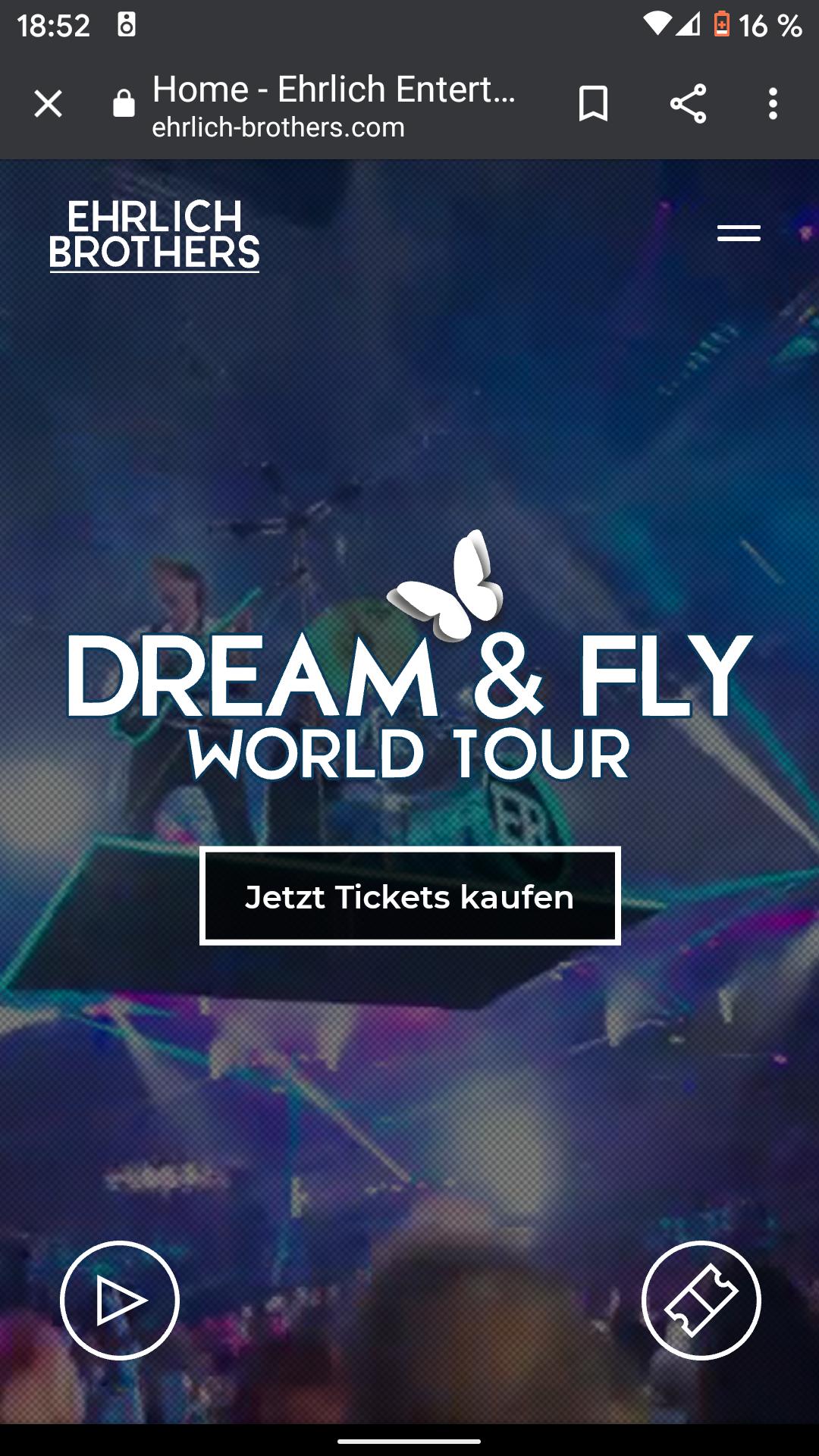 """Ehrlich Brothers """"Dream & Fly"""" Magie-Schow 25% Preisvorteil"""