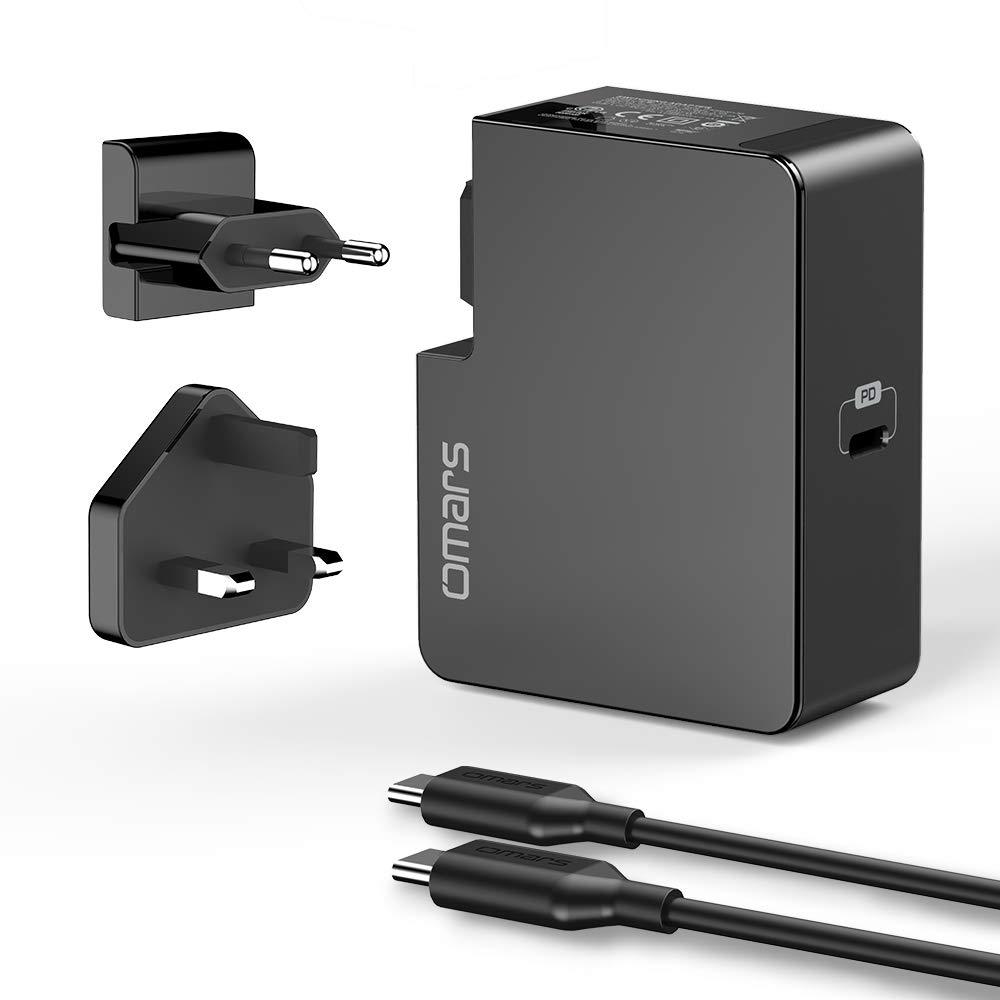 Omars USB C Ladegerät mit 45 Watt