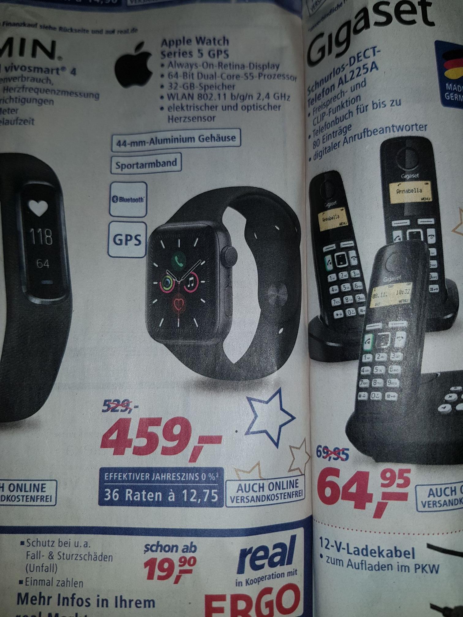 Apple Watch Series 5 GPS Real (F&F)