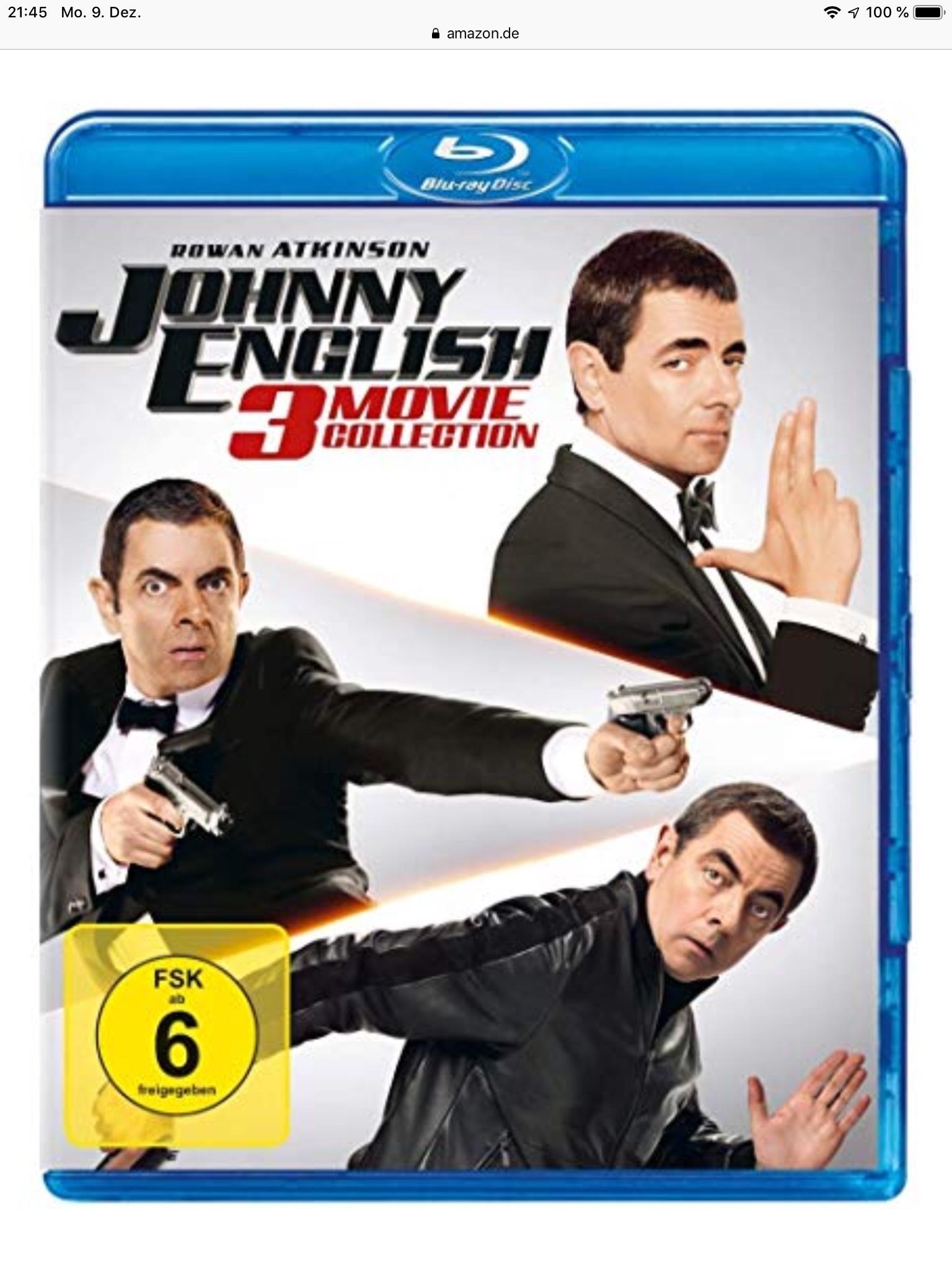 Johnny English 3-Movie Blu-ray