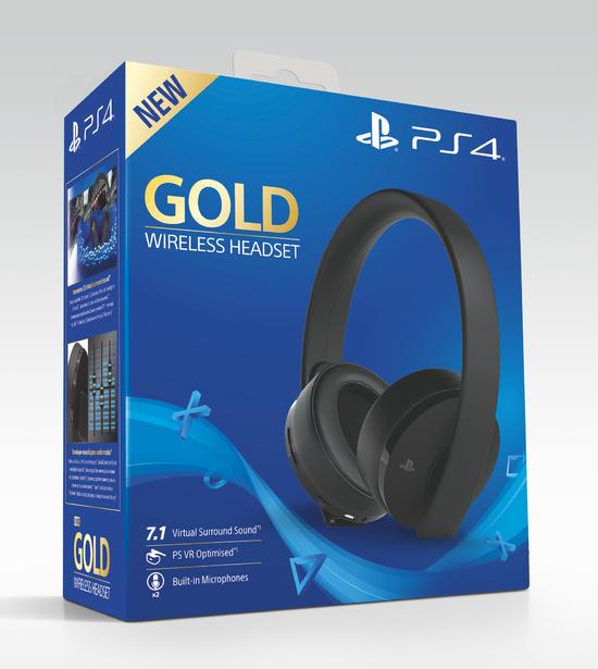 GameStop - Sony PlayStation 4 Wireless Headset Gold Edition