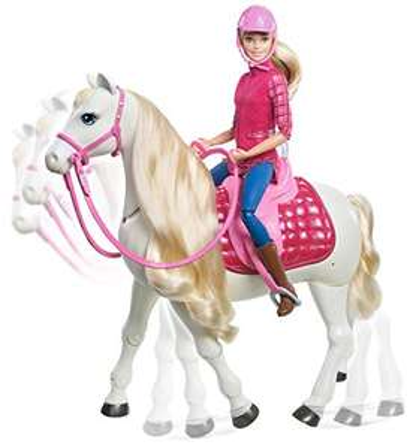 Für Prime Kunden: Barbie Traumpferd und Puppe für 63,99 inkl. Versand