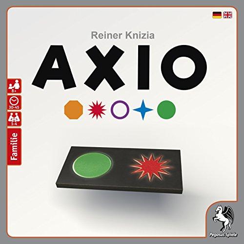 Brettspiel Axio von Rainer Knizia (53200G) auf Amazon