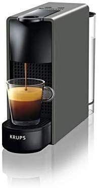Kaffeemaschine Sammeldeal z.B Krups Nespresso XN110B Essenza Mini Kaffeekapselmaschine, 1260 Watt, grau, 0,7 Liter [Amazon]