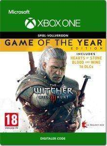 The Witcher 3: Wild Hunt - Game of the Year Edition (Xbox One) für 14,99€ & The Witcher 3: Wild Hunt für 8,99€ (Xbox Store)