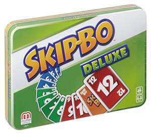 [Amazon Prime] Mattel Games L3671 Skip-Bo Deluxe in Metalldose Kartenspiel