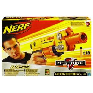Nerf N-Strike Barricade RV-10 batteriebetriebener Soft Dart Blaster für 16,89€ @ Amazon Marketplace