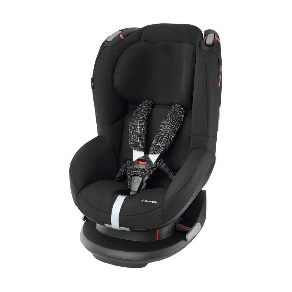 [Amazon Prime] Maxi-Cosi Tobi Kinderautositz, 5 Sitz und Liegepositionen, Gruppe 1, ab 9 Monate bis 4 Jahre, black grid (schwarz) 9-18 kg