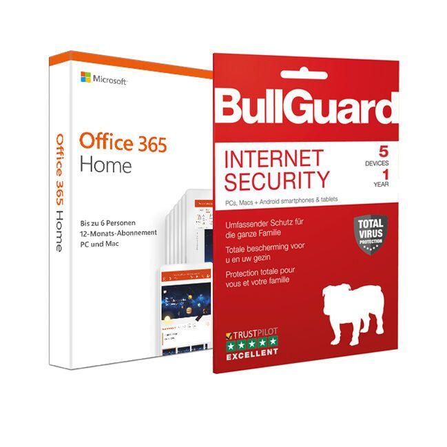 Office 365 6 Benutzer + Bull guard Virenschutz