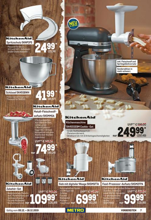 [METRO]: KitchenAid Food Processor 5KSM2FPA