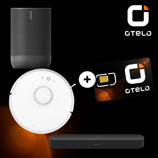Otelo Classic (10GB LTE) mtl. 19,99€ + u.a. Roborock S50 (19,95€ ZZ), Sonos Beam (69,95€ ZZ), Sonos Move (39,95€), etc. [Vodafone-Netz]