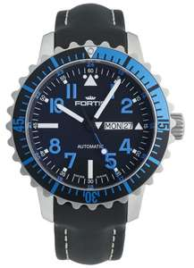 Fortis B-42 Marinemaster Day Date Blue
