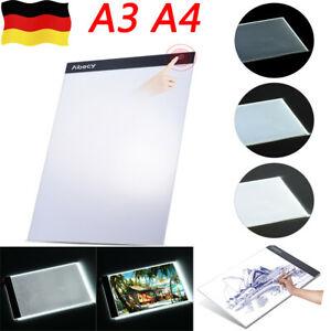A3 A4 LED Leuchtkasten Reißbrett Pad Copyboard Zeichenbrett für Künstler DE. @ EBAY @ 11,59 EURO