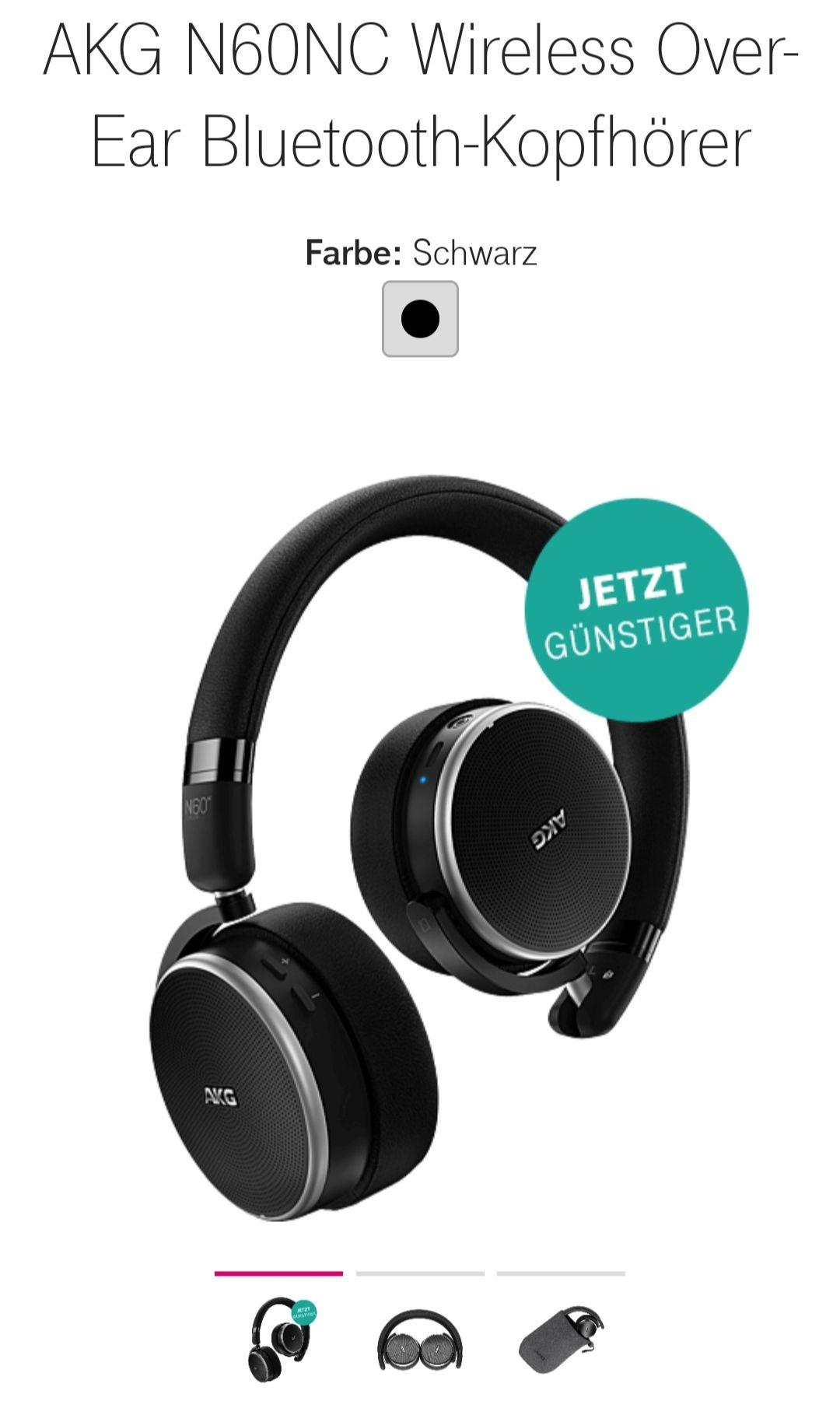 AKG N60NC Wireless Over-Ear Bluetooth-Kopfhörer