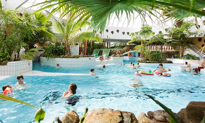 """Tageskarte ins """"Aqua Mundo"""" für 1 Kind od. 1 Erwachsenen + Sauna im Center Parcs Park Eifel"""