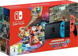 Nintendo Switch (neues Modell) mit Mario Kart