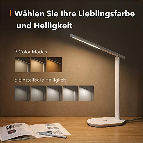 [Blitzangebot] TaoTronics Schreibtischlampe LED (Modell TT-DL064)