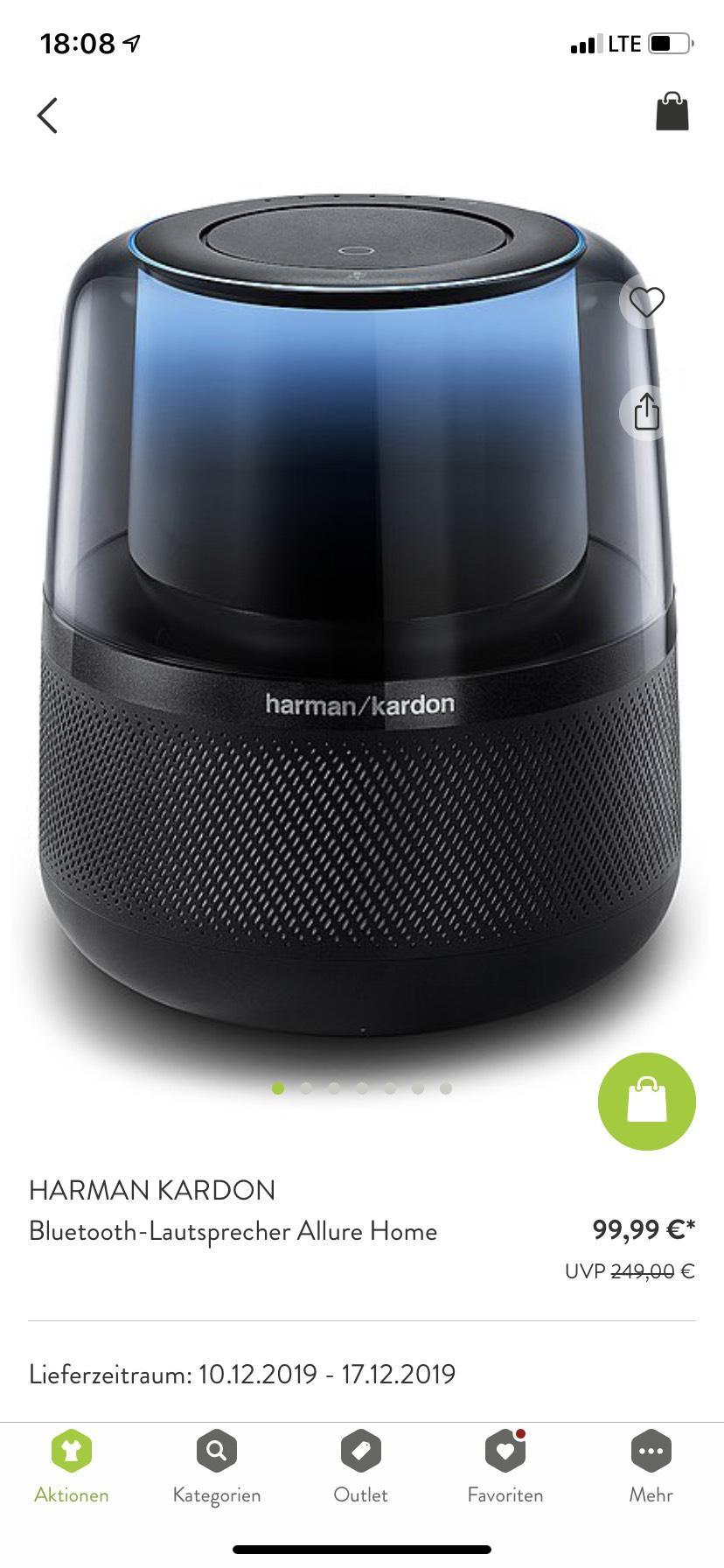 Harman kardon allure home Bluetooth Lautsprecher