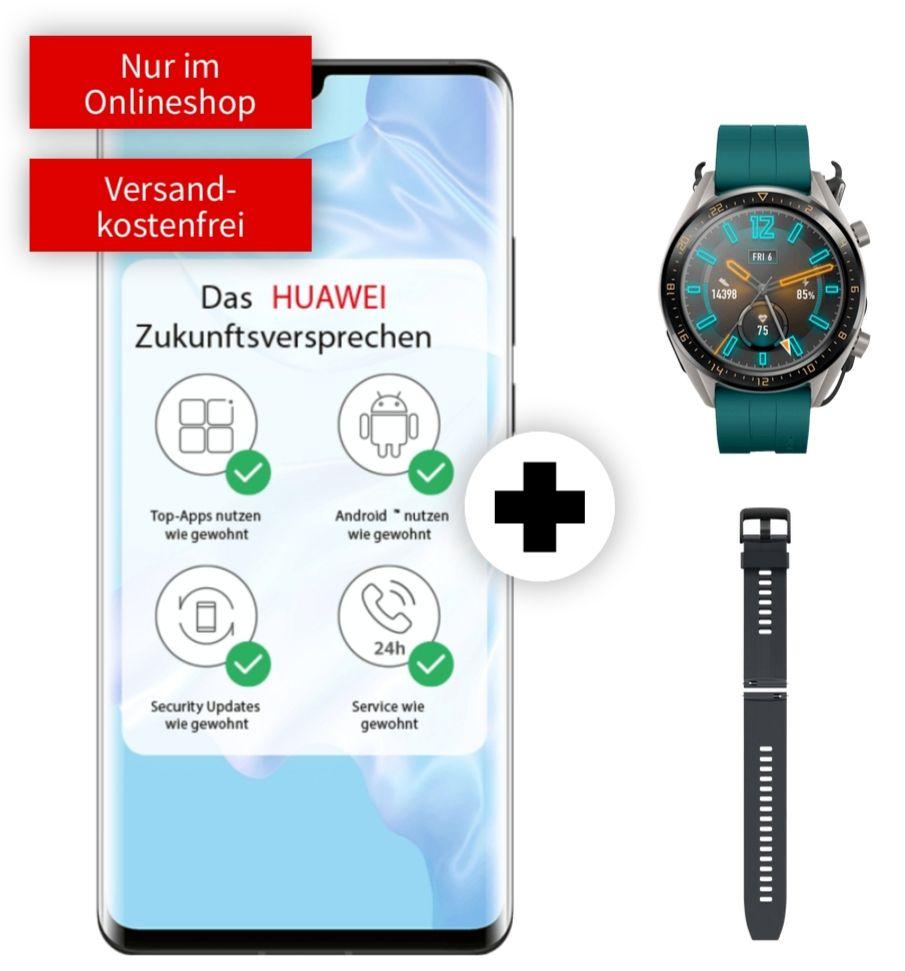 Huawei P30 Pro und Watch GT im Debitel Vodafone (16GB LTE) mtl. 26,99€ einm. 49€