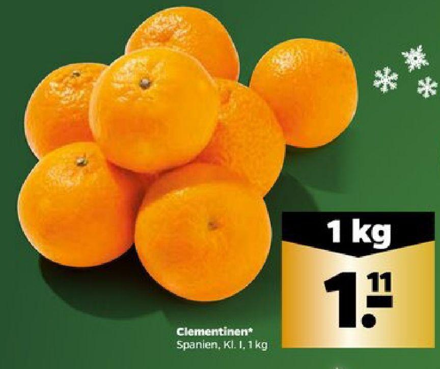 Clementinen für 1,11€ pro Kilogramm [Netto Scottie]