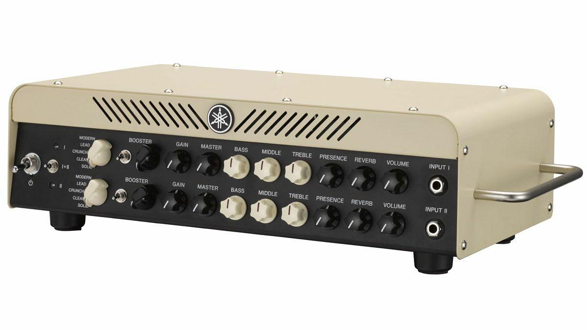Yamaha THR100H: E-Gitarren Topteil (100W/8Ω, Class-D Endstufe, Booster / Reverb / Noise Gate, FX Loop)