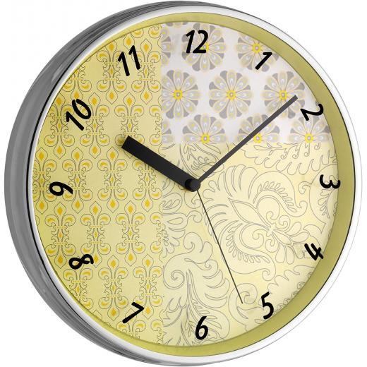 """TFA Dostmann Wanduhr """"98.1099"""" (Leises Uhrwerk, Mit Metallrahmen, 31.5 cm) *versandkostenfrei* [DEALCLUB]"""