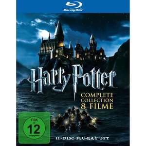 [ Blu-ray ] Harry Potter - Complete Collection für 49,97 EUR inkl. Versand @ Amazon.de