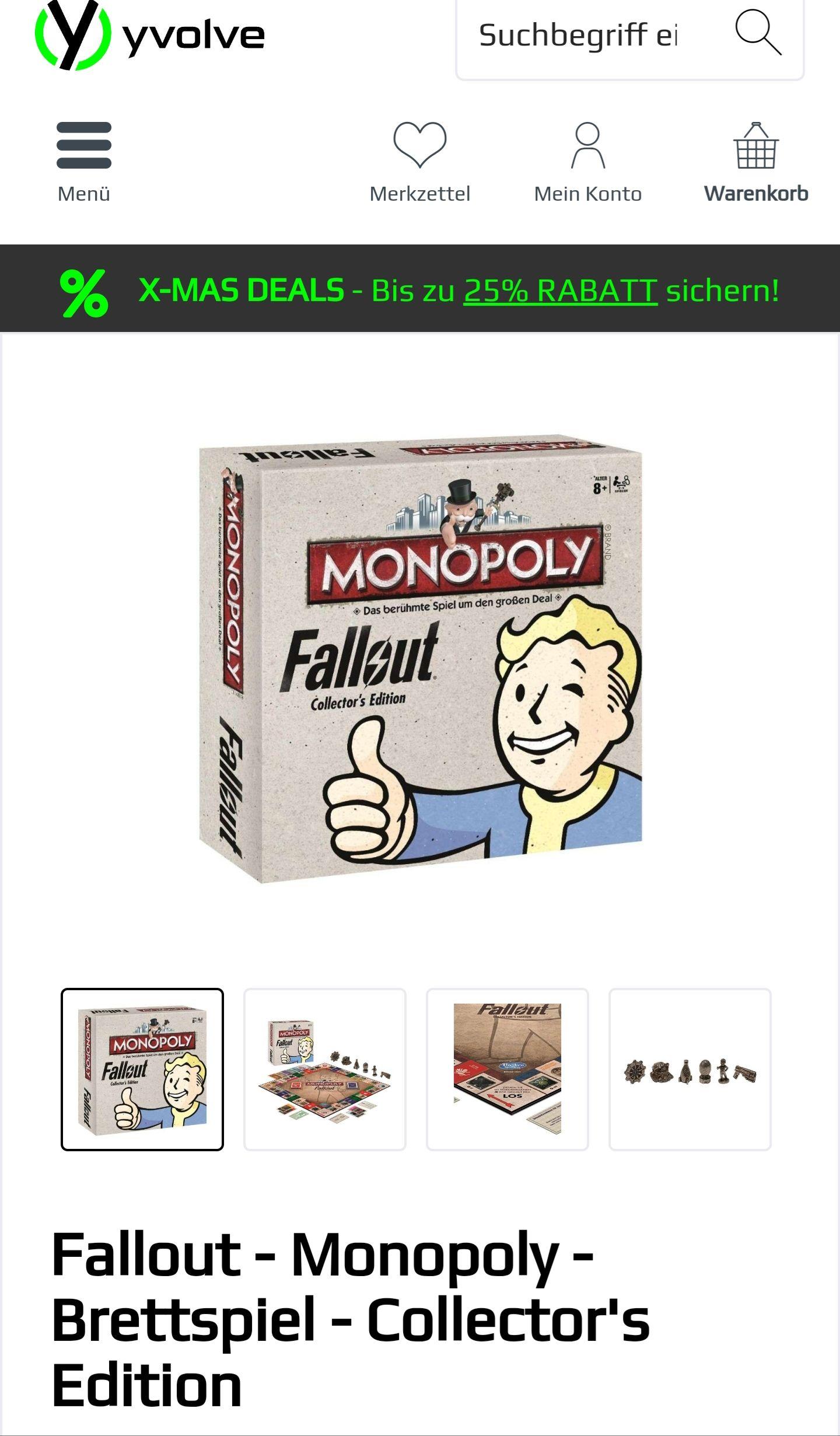 [Yvolve.de] Fallout Monopoly