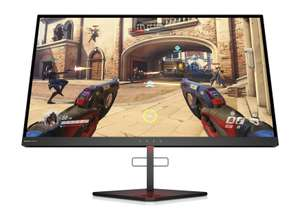 HP Omen X 25 (24,5 Zoll / Full HD 240Hz / G-Sync) Gaming Monitor (2x HDMI, Displayport, 2x USB 3.0, Audio Out, 1ms, höhenverstellbar, 16:9)
