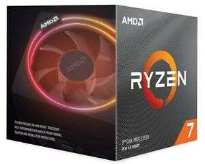 [ebay.de] AMD Ryzen 7 3700X, 8 Cores, 16 Threads, Basistakt 3,6 GHz, Turbotakt 4,4 GHz, AM4