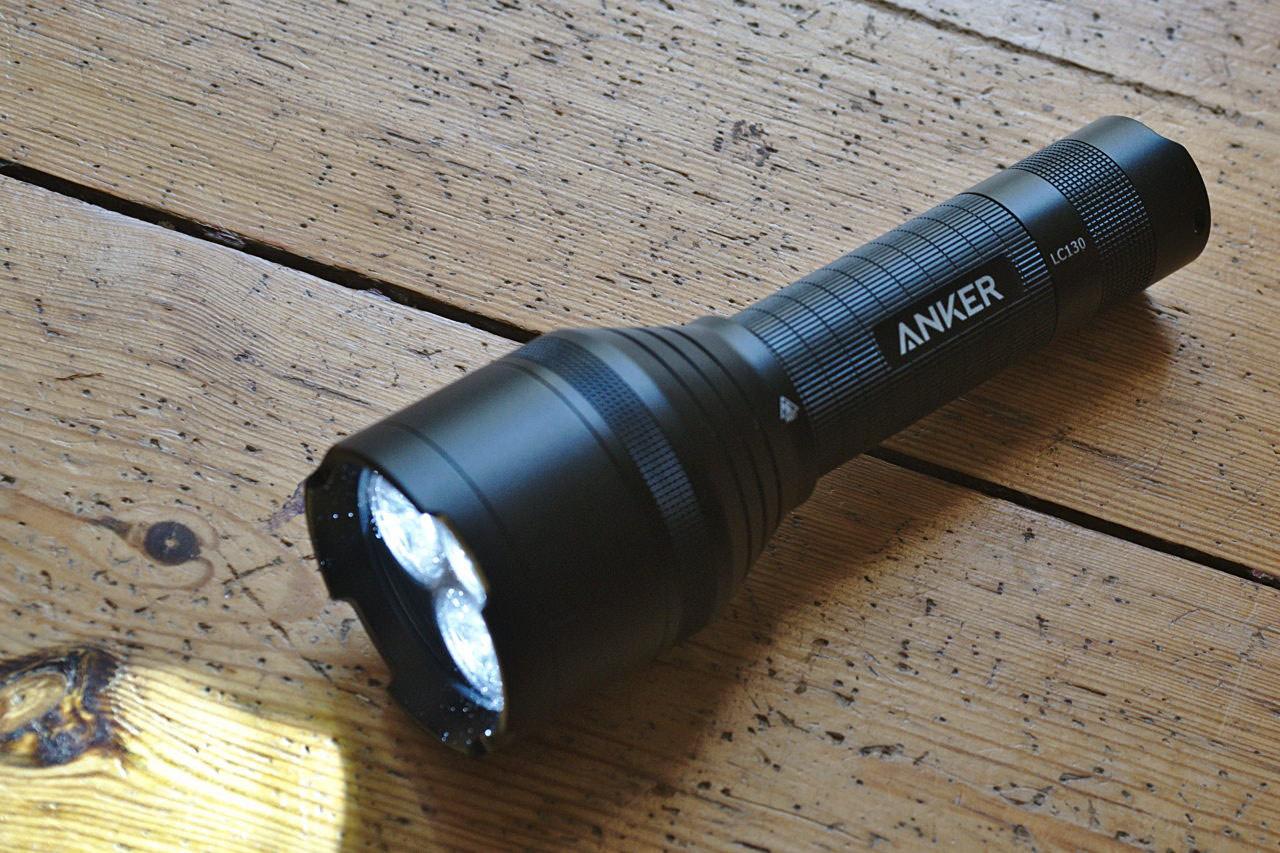 Anker LC130 LED Taschenlampe - 1300 Lumen - 5000 mAh Akku