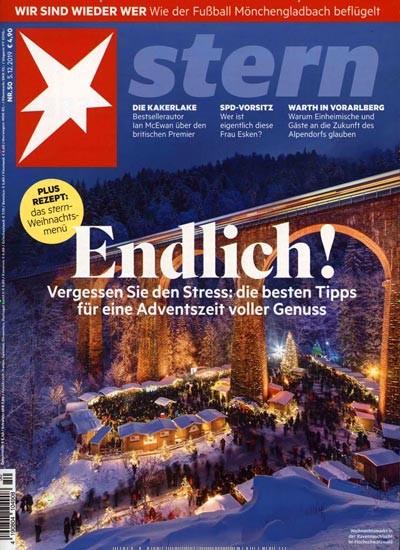 Stern Magazin Abo (12 Ausgaben) für 254,80 € mit einem 215 € Amazon-Gutschein/ 200€ Verrechnungsscheck