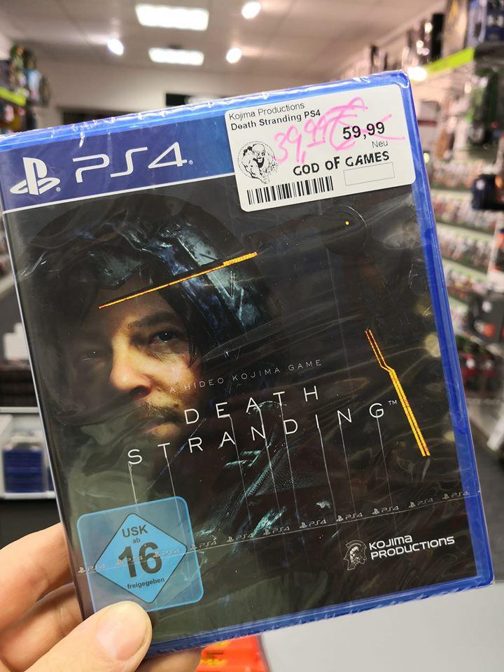 [Lokal] Death Stranding (PS4), God of Games in Plauen