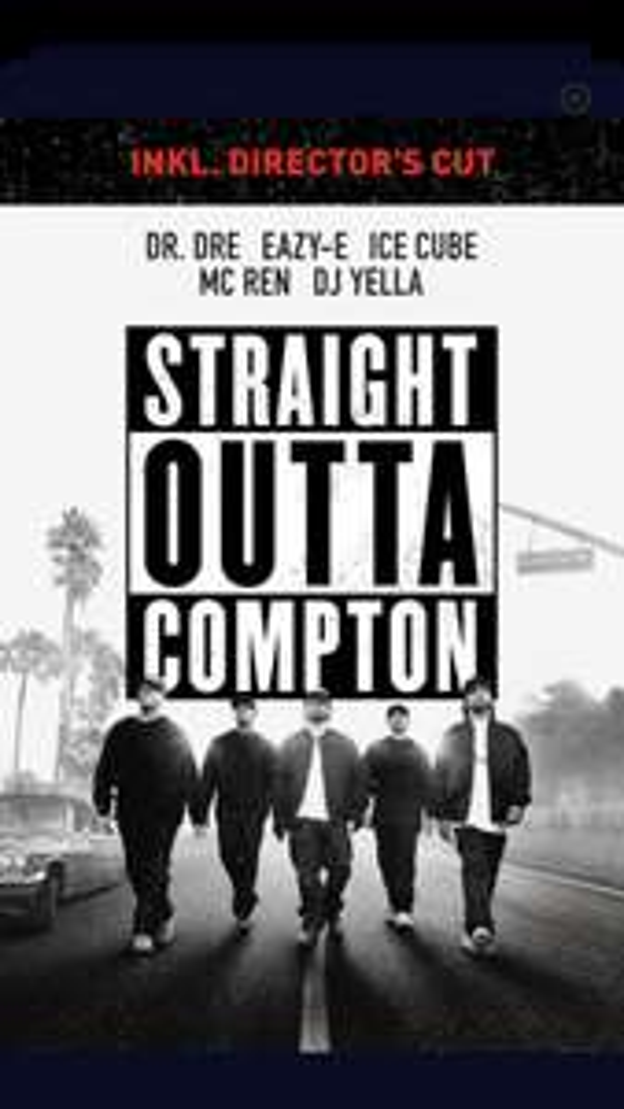 "4K inkl. iTunes Extras ""Straight Outta Compton (2015)"" von F. Gary Gray"