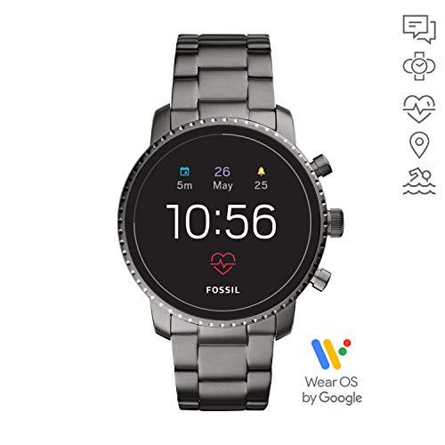 Fossil Q Explorist HR Gen. 4 Smartwatch Edelstahl FTW4012 für 149€