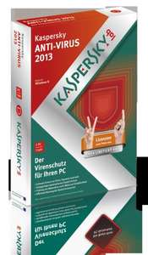 Kaspersky AntiVirus 2013 Sonderedition 2User 19,99 @ zackzack.de