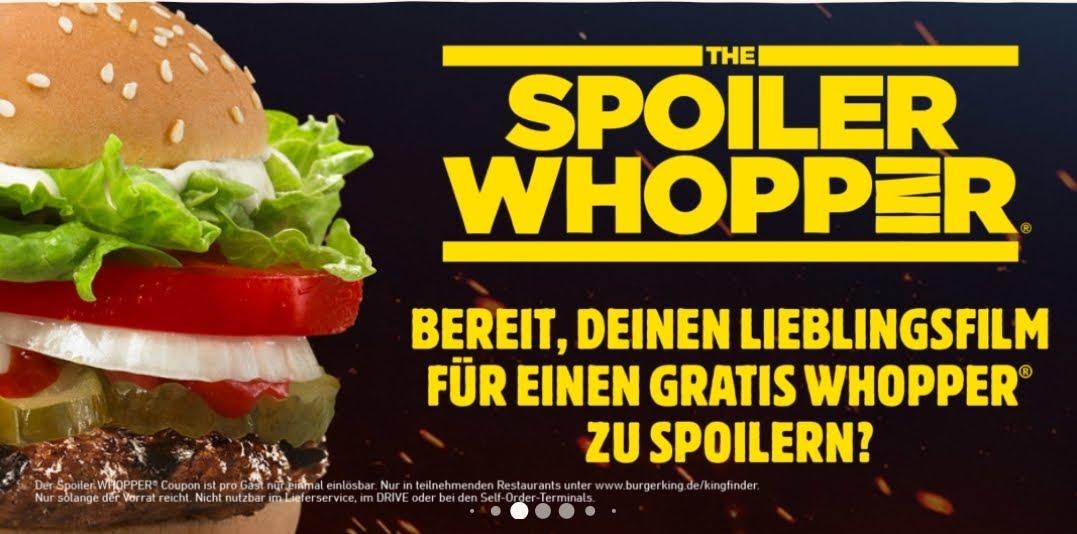BK-App: Gratis Whopper für das Spoilern eines Films [Achtung Star Wars Spoiler]