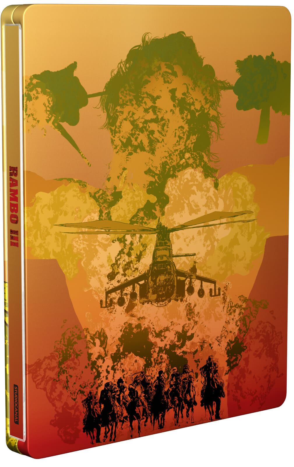 Rambo 3 (4K Blu-ray + Blu-ray) inkl. Steelbook für 13,85€ inkl. Versand (Zavvi UK)