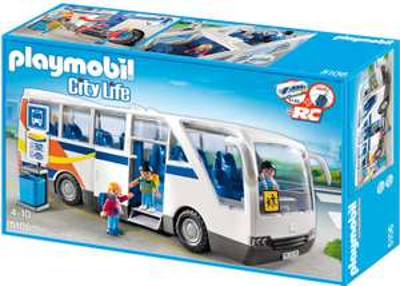 [Amazon Prime] PLAYMOBIL City Life 5106 Schulbus, Ab 4 Jahren / Playmobil 70194 City Life Oma mit Rollator