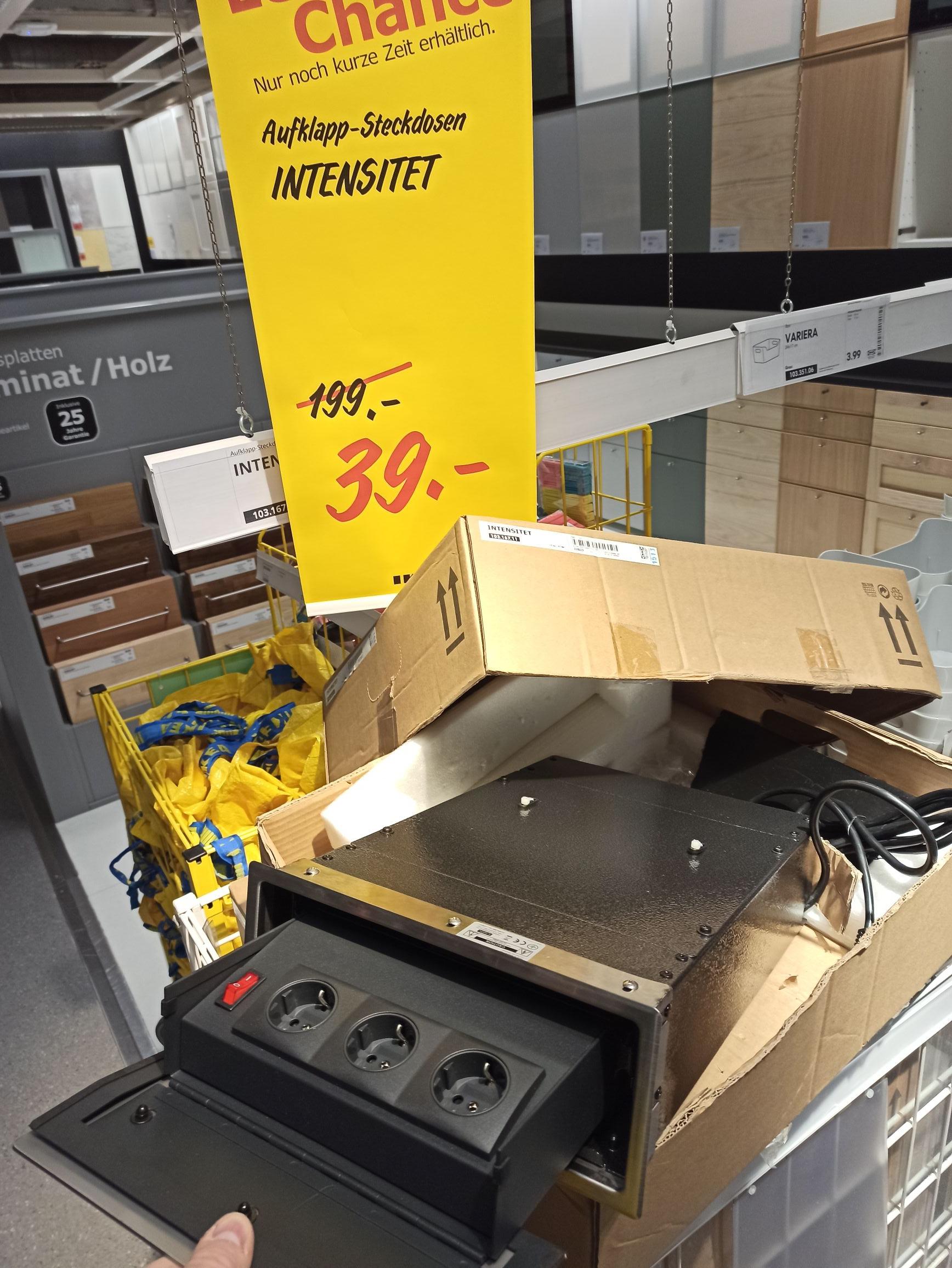 [Ikea Walldorf lokal?] Intensität Aufklapp-Steckdosen